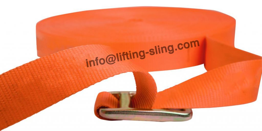 one way lashing buckle strap