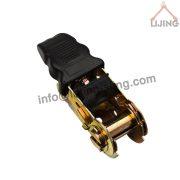 25mm rubber ratchet buckle