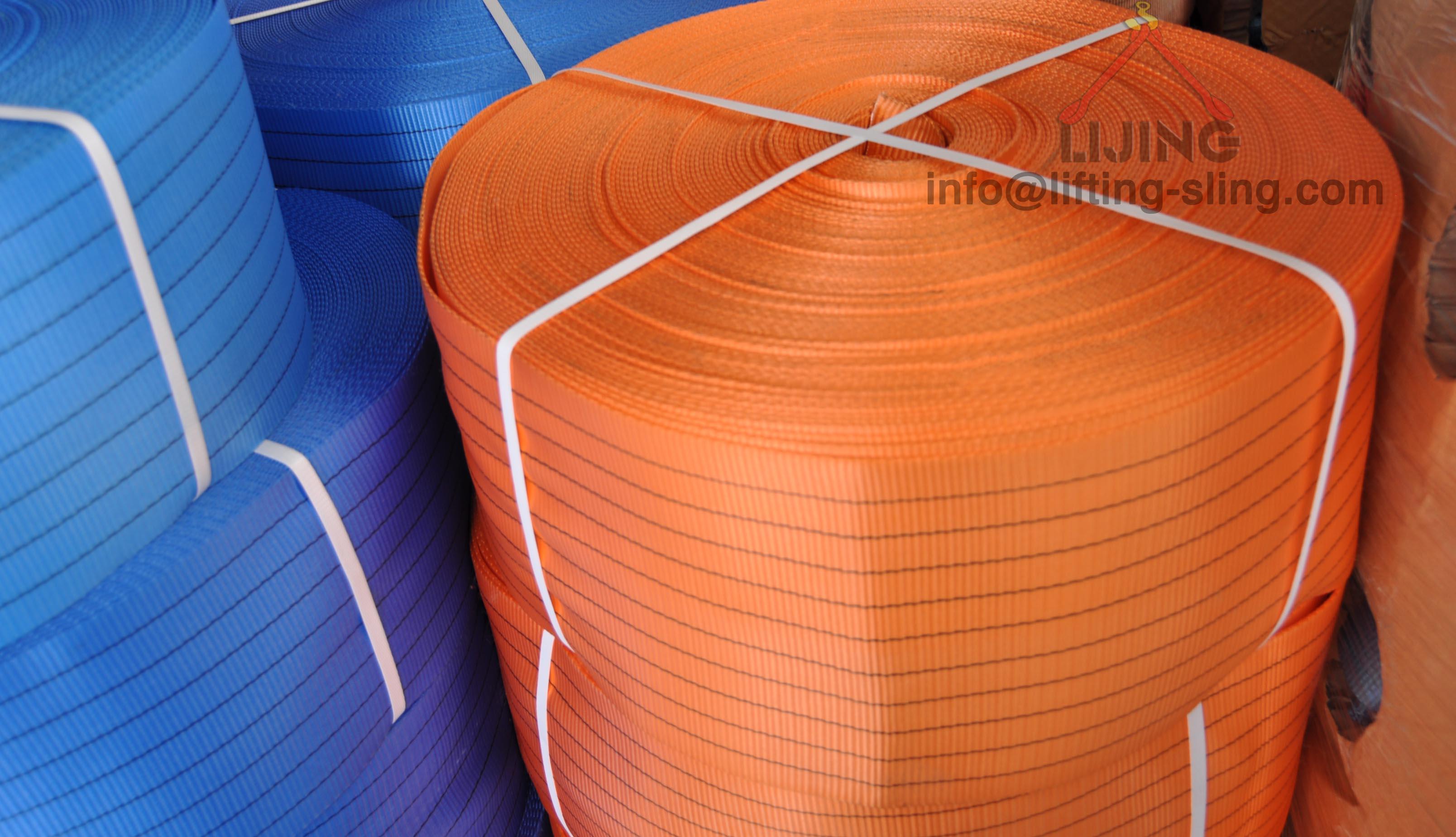10T polyester webbing