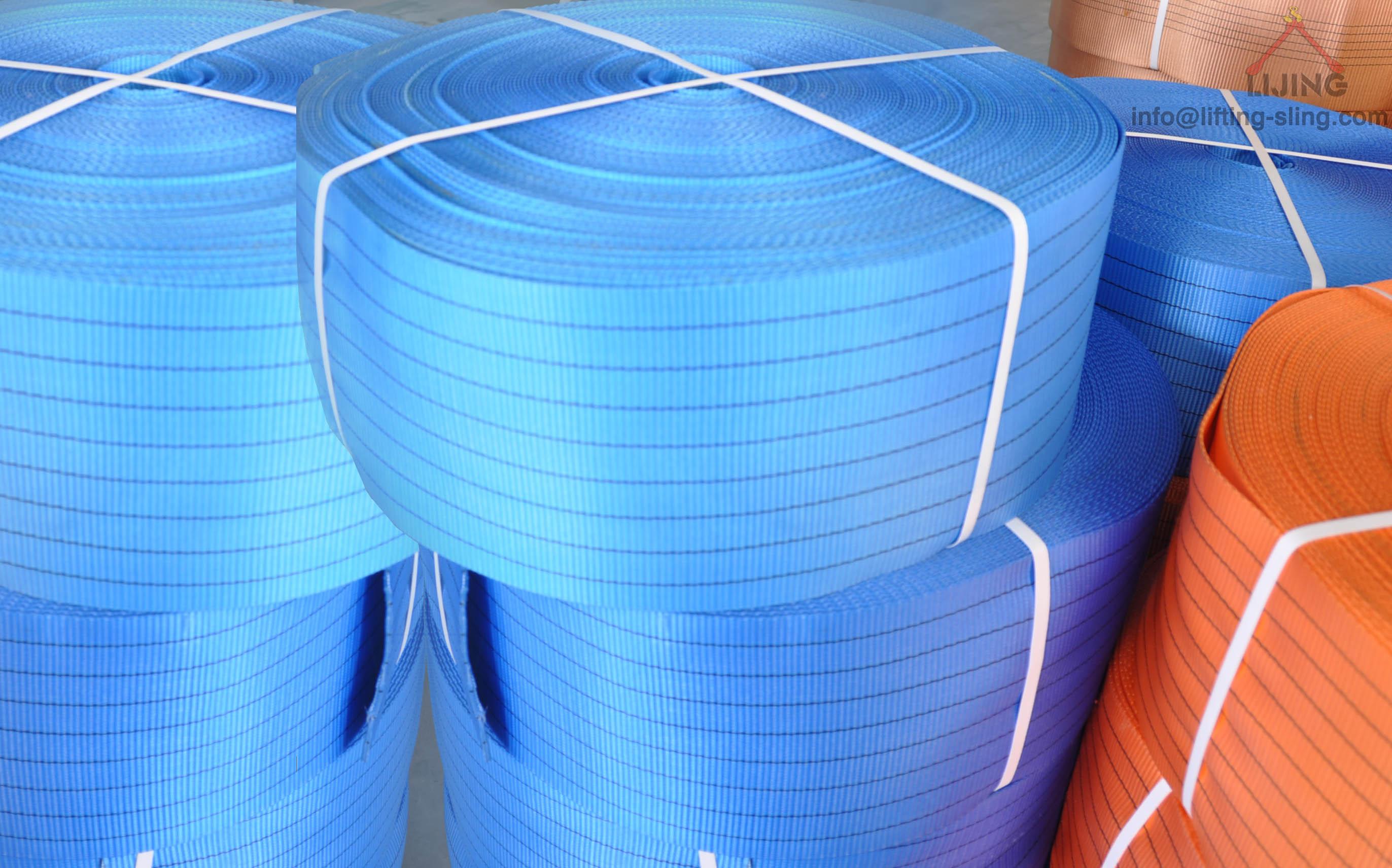 8T polyester webbing