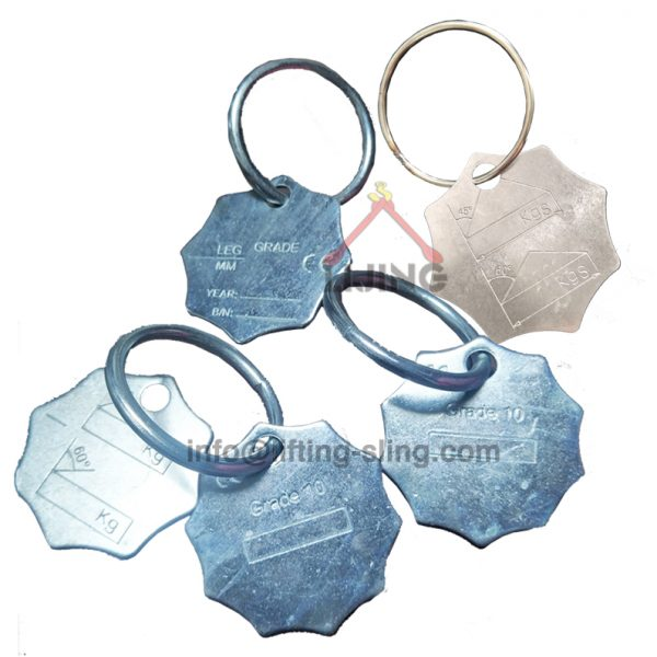 chain sling tag