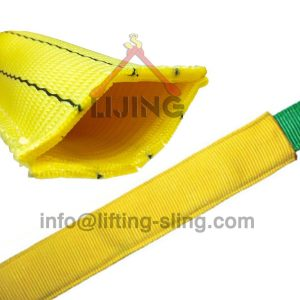 lifting sling wear sleeve