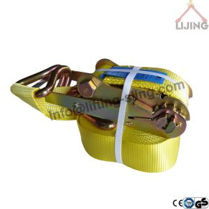 8T ratchet lashing strap