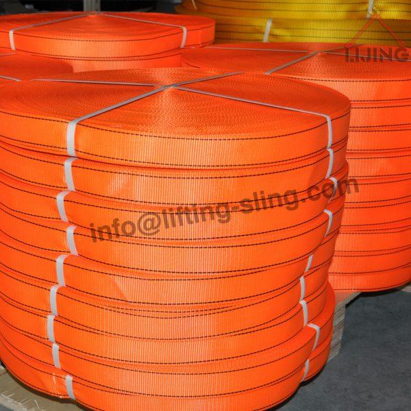 orange safety belt