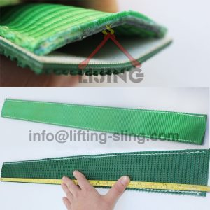 tire lashing protection sleeve